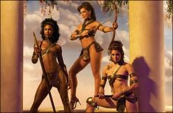 The Amazons In Greek Mythology