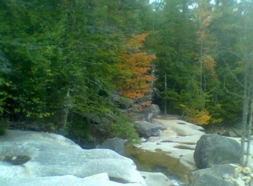 Waterfalls along the Kancamangis Highway
