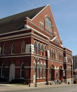Ryman Auditorium, Nashville.