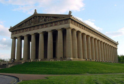 Who needs to go to Athens to see the Parthenon?  Nashville's Centennial Park.