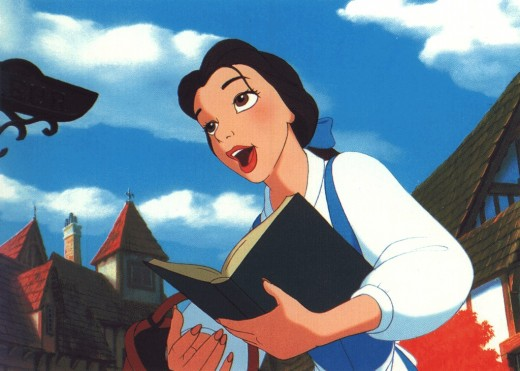 Belle was always my favorite. Ball gown or no, she couldn't get her head out of a book.