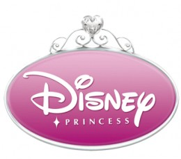 The Disney Princess franchise logo.