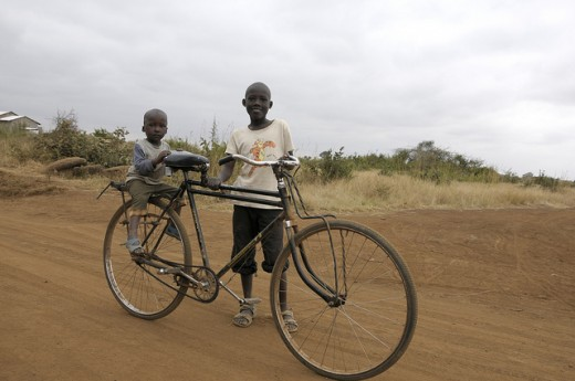 A Bicycle in Africa