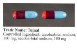 Tuinal capsules