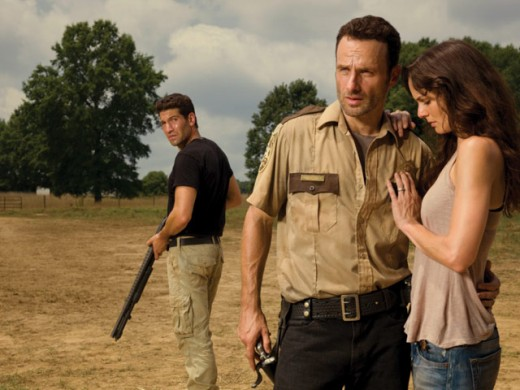 The triangle between Shane, Lori and Rick is one of the main sources of tension and drama