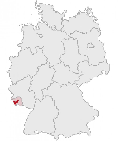 Saarlouis district, Saarland, Germany