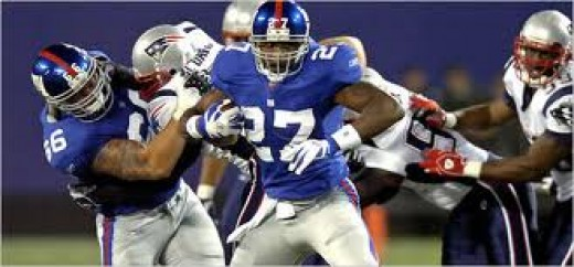 Memories? The Giants knocked off the undefeated Patriots back in 2008 to win the Superbowl. New England finished 18-1.