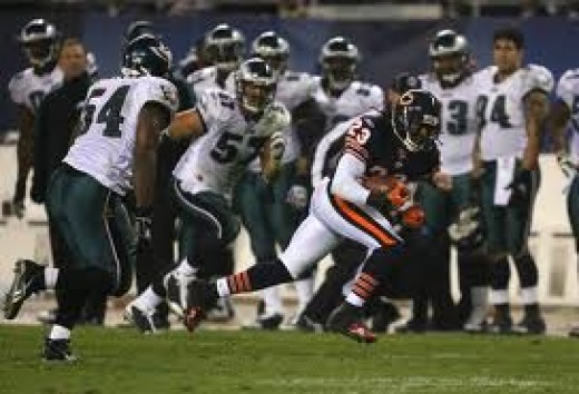 Devin Hester is the most dangerous return man in the NFL.
