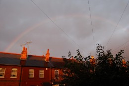 It's something magical about the rainbow