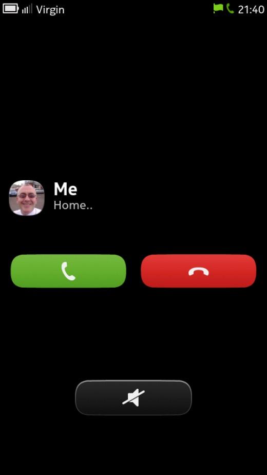Answer screen