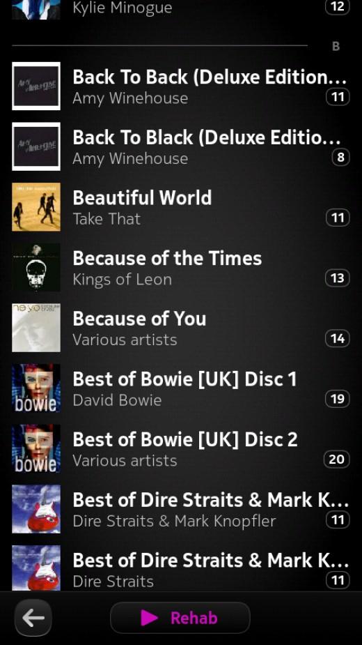 Album List N9