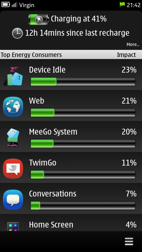 Battery Usage App