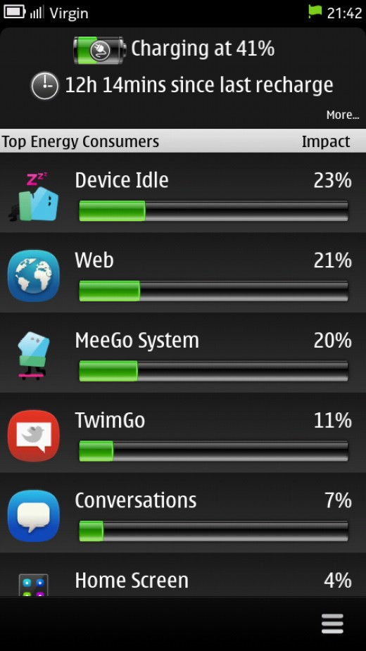 Battery Usage App