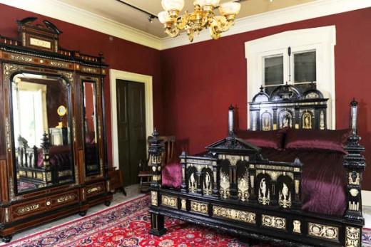Victorian Bedroom Interior