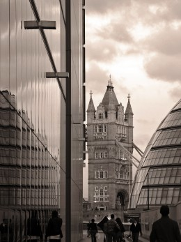 Silk Street - A view of Tower Bridge