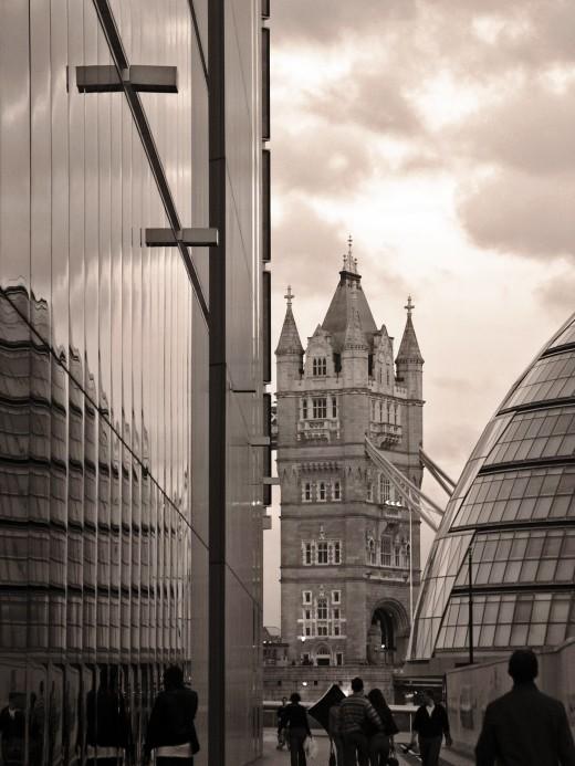 Silk Street - A view of Tower Bridge