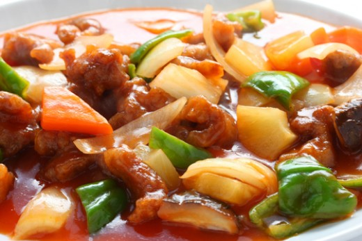 Much maligned Chinese classic: Sweet & Sour Pork. Image: © bonchan|Shutterstock.com