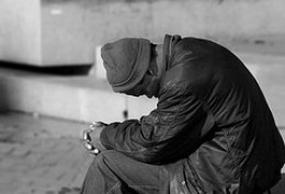 Homelessness can lead to depression