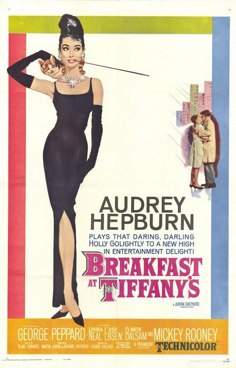Breakfast at Tiffany's Movie Poster