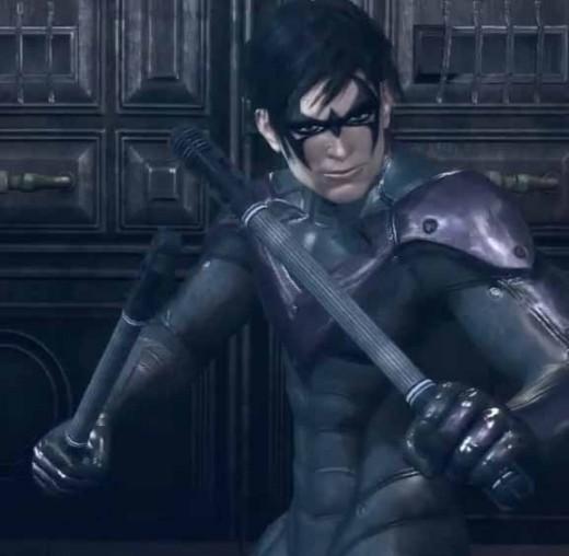 Batman Arkham City Playing as Nightwing