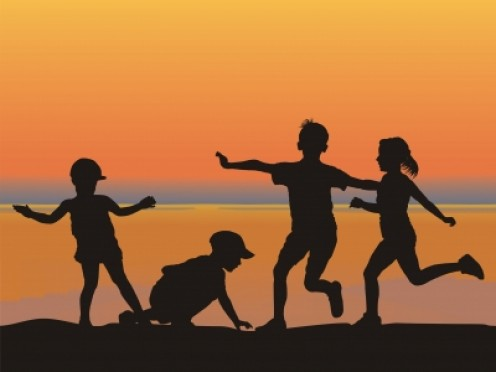 I meet other children on a new day of my life, providing opportunity for new discoveries.