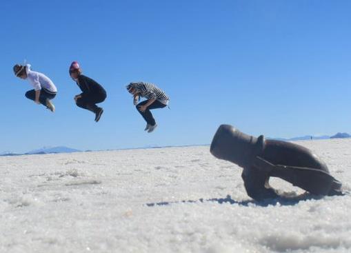 Canon - Perspective photography - Salar de Uyuni