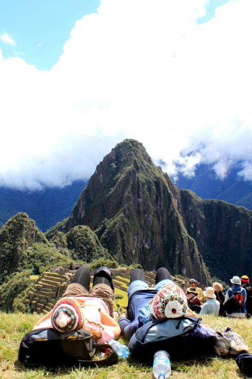 Machu Picchu resting spot