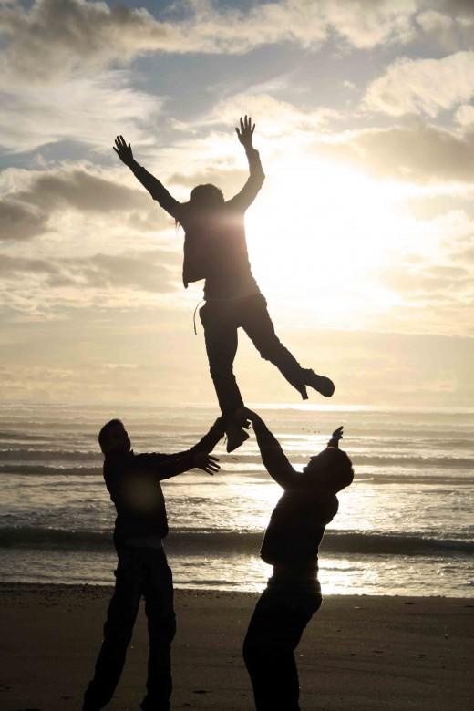 Jumping Free - Peru
