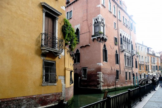 Venetian architecture and canals