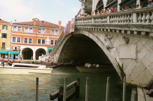 Rialto Bridge across the Grand Canal