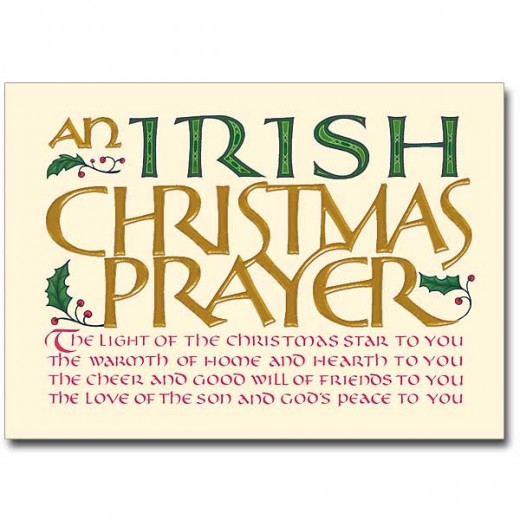 Irish Christmas Blessings Greetings and Poems H34p4Ill