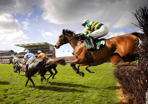 The Grand National at Aintree
