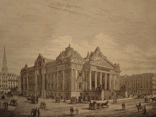 V. De Donker, the New Stock Exchange, 1872
