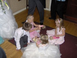 Again, let children control their OWN world by encouraging them to recreate the event they're stuck at- in Barbie form!