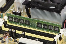 DDRII R.A.M memory, and the way it should be inserted in to memory DIMM slot.