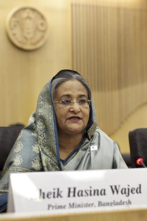 Sheik Hasina Wajed, Prime Minister of Bangladesh