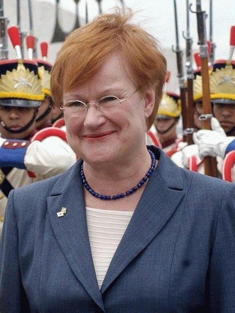 Tarja Halonen, President of Finland.