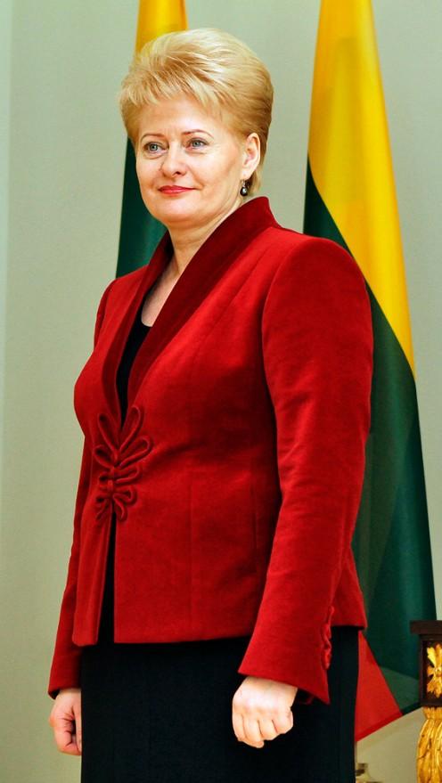 President of Lithuania Dalia Grybauskaitė