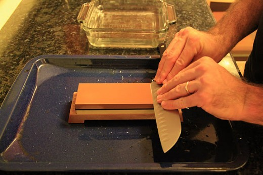 Coarse Grit Sharpening