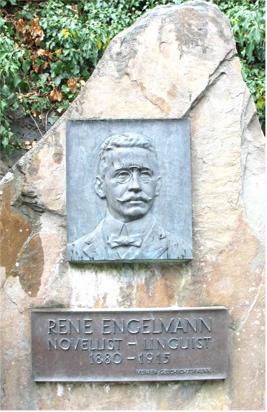 Memorial to R. Engelmann at Vianden