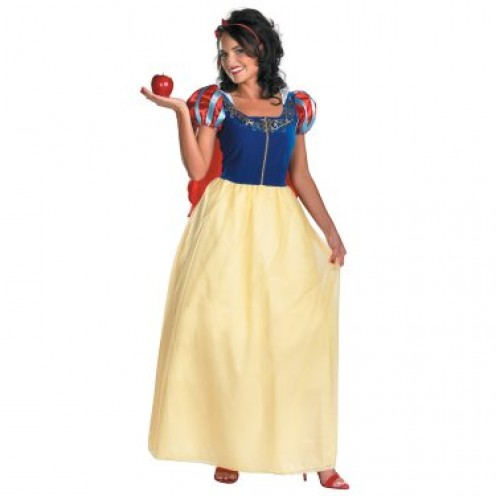 While most people think of Belle in the brilliant yellow gown she wears in