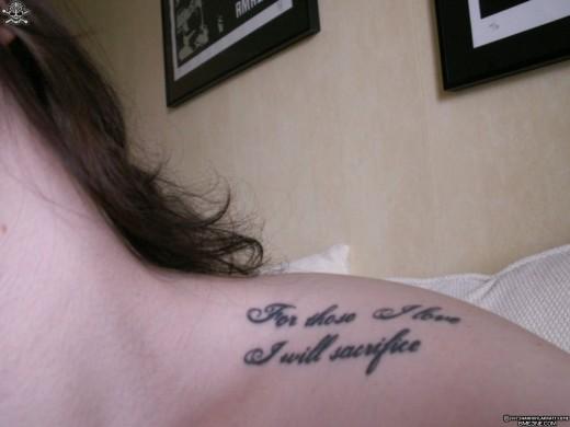 Veritas tattoo for Veritas aequitas tattoos