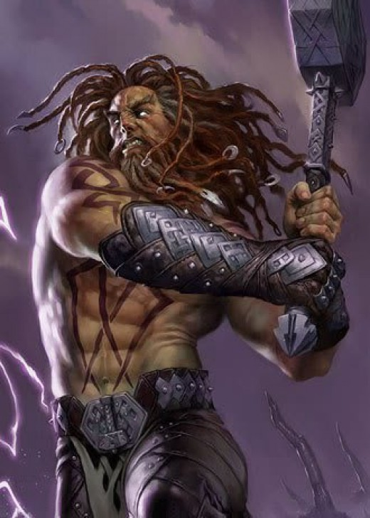 Do you know how hard it is to find an image of Thor that is NOT from the comic book series!?!