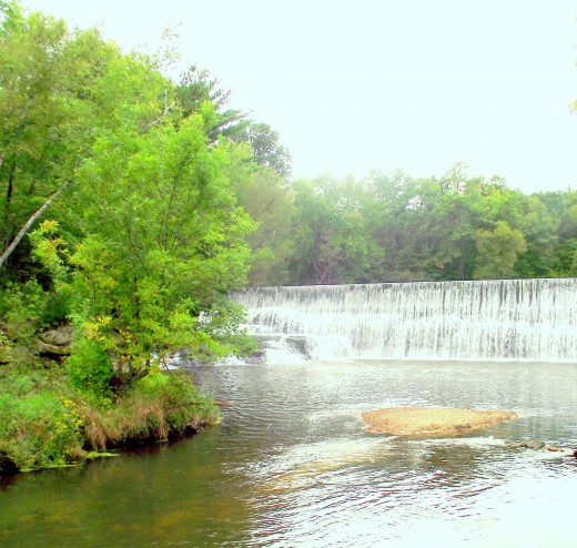 Creek-waterfall