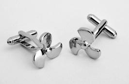 Propeller Cufflinks - Perfect for the Groomsmen!