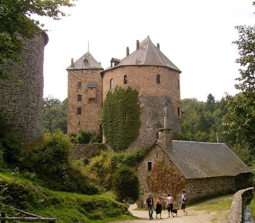 Reinhardstein Castle in eastern Belgium