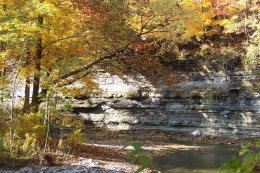 Beautiful colorsi n the gorge in the Fall