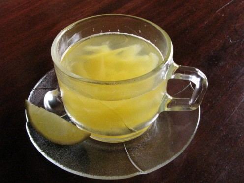 Brewed tea makes an excellent warm winter drink