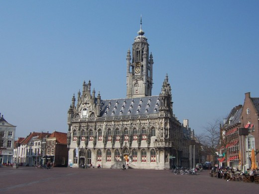 Middelburg, Zeeland, The Netherlands: Old City Hall