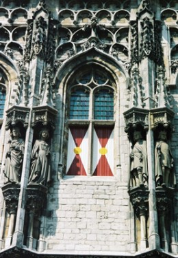 Gable close-up, Old City Hall, Middelburg